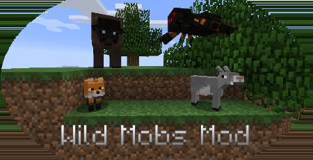 Мод на диких животных Wild Mobs для Minecraft 1.7.10