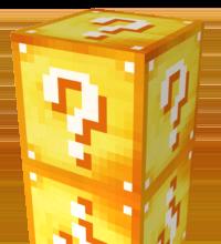 Лаки Блок в Майнкрафт