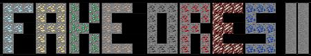 Fake Ores 2 — мод на злую руду в Minecraft 1.13.2-1.7.10
