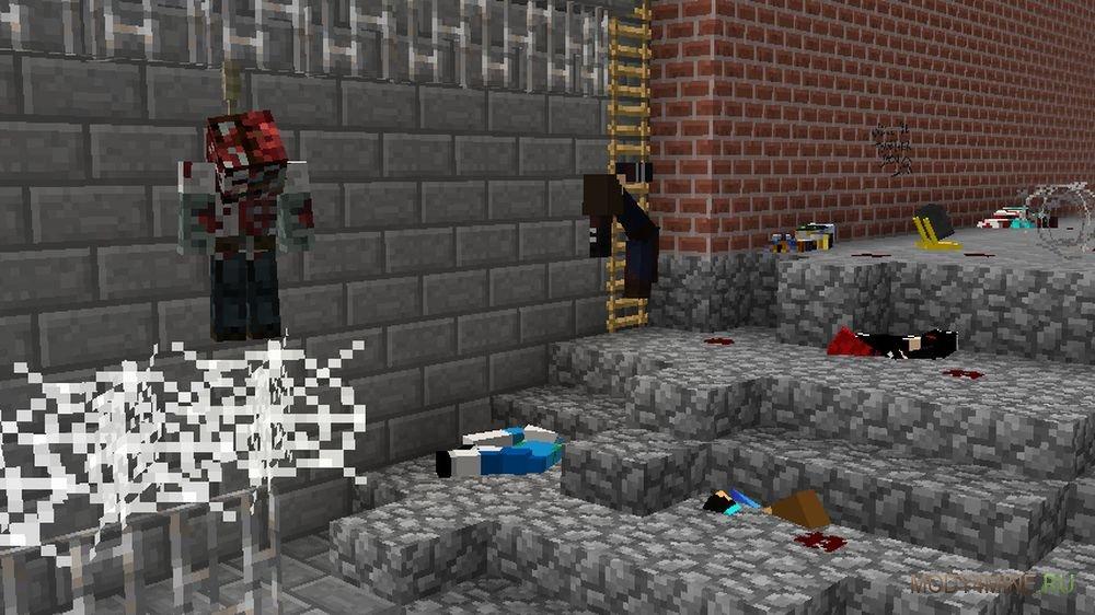 Мод на Зомби Апокалипсис в Minecraft 1.6.4