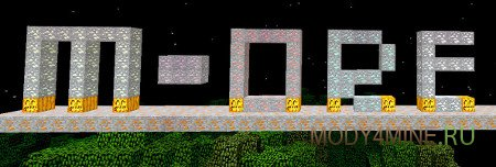M-Ore — мод бери новые руды во Minecraft 0.10.2/1.9.4/1.8.9/1.7.10/http://mody4mine.ru/1.5.2
