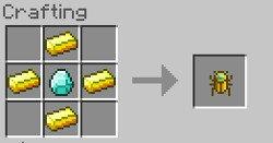 Рецепт крафта драгоценного скарабея