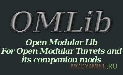OMLib — мод для Minecraft 1.10.2/1.11.2/1.12.2