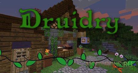 Druidry — мод на природную магию в Minecraft 1.10.2/1.9.4/1.7.10