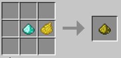 Крашенный алмазный порошок