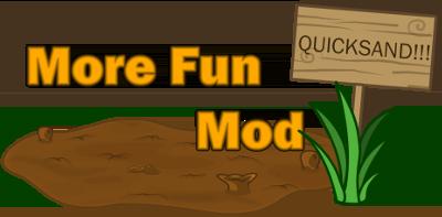 More Fun Quicksand — мод на зыбучие пески в Minecraft 1.6.4/1.7.10