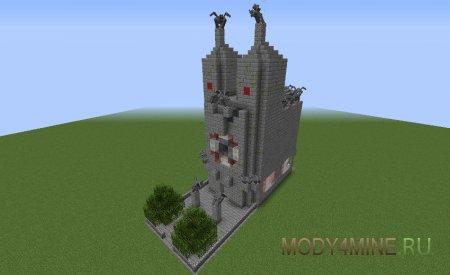 Древняя постройка, охраняемая злом
