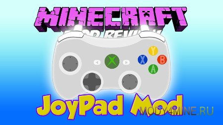 Joypad — мод на джойстик в Minecraft 1.7.10-1.12.2