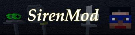 Siren Mod — сирены в Minecraft 1.6.4/1.7.10