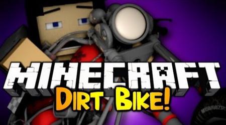 Dirtbike — мод на мотоциклы для Minecraft 1.7.10