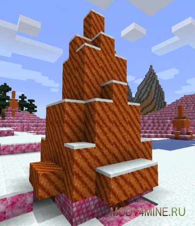Башни из блоков мороженого