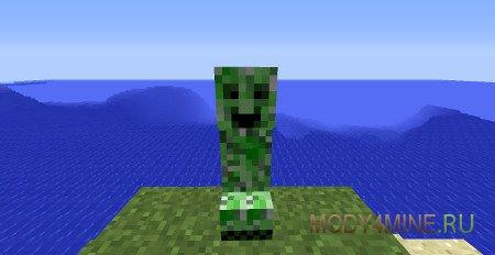 Happy Creepers — мод на веселых Криперов в Minecraft 1.12.2