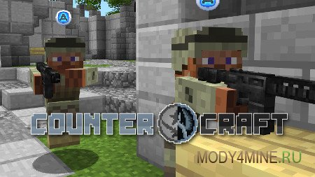 CounterCraft — мод на CS: GO в Minecraft 1.6.4