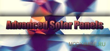 Advanced Solar Panels — мод на солнечные панели в Minecraft 1.12.2-1.7.10