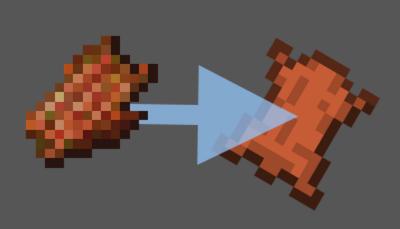 Rotten Flesh to Leather — гнилая плоть в кожу в Minecraft 1.12.2-1.7.10
