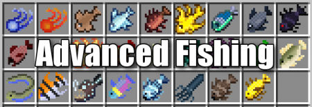 Advanced Fishing для Minecraft 1.12.2