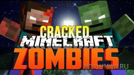 CrackedZombie — мод на зомби-апокалипсис в Minecraft