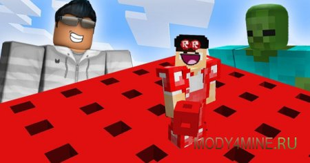 Roblox Lucky Block для Minecraft 1.8/1.8.9