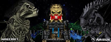 Aliens Vs Predator — Чужой против Хищника в Minecraft 1.12.2