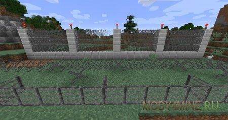 Постройте бункер или защитите базу колючей проволокой