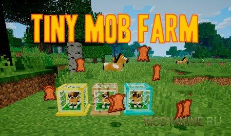 Tiny Mob Farm 1.13.2/1.12.2 – мод на ферму мобов для Minecraft