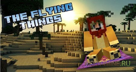 The Flying Things 1.13.2/1.12.2 – мод на ковер-самолет для Minecraft
