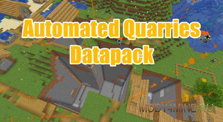 Automated Quarries Datapack 1.14