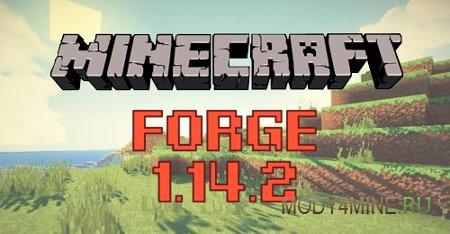 Forge для Minecraft 1.14.2