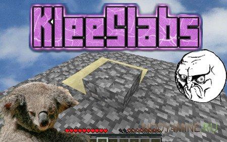 KleeSlabs 1.16.2/1.16.1/1.15.2/1.14.4/1.12.2/1.11.2/1.10.2/1.9.4/1.7.10