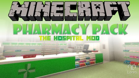 Hospital Mod – Pharmacy Pack 1.12.2
