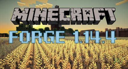 Forge для Minecraft 1.14.4