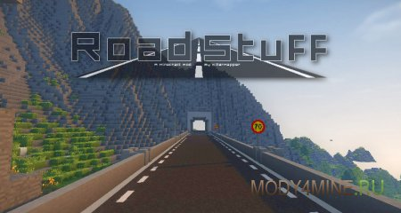 Road Stuff 2 – мод на дороги для Minecraft 1.14.4/.3