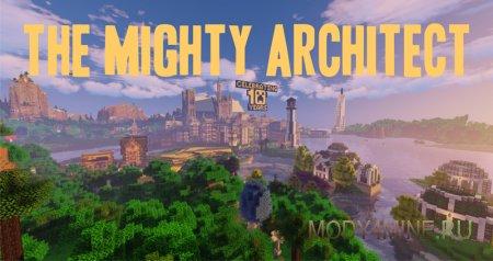 Mighty Architect – мод на быстрые постройки для Minecraft 1.12.2/1.14.3