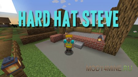 Hard Hat Steve 1.14.4/.3 [Fabric]