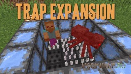 Trap Expansion – мод на ловушки для Minecraft 1.14.4 [Fabric]