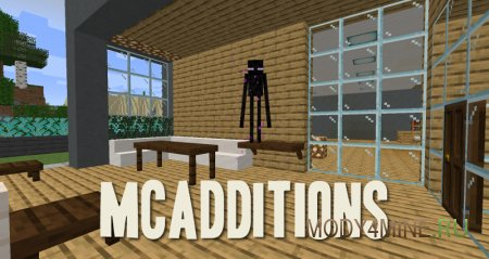 MCAdditions – мод на полки и столы для Minecraft 1.14.4