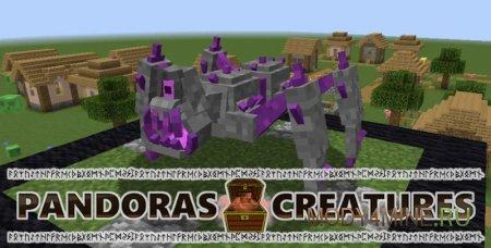 Pandoras Creatures – мобы из ящика Пандоры для Minecraft 1.14.4