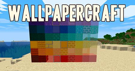 Wallpapercraft – мод на обои для Minecraft 1.15.1/1.14.4
