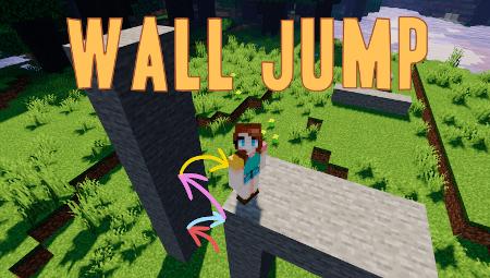 Мод Wall Jump – паркур в Minecraft 1.12.2/1.14.4/1.15.2