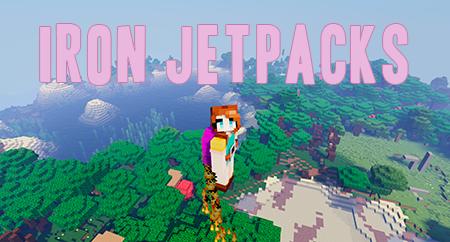 Iron Jetpacks – мод на джетпак для Minecraft 1.16.x, 1.15.2, 1.14.4 и 1.12.2