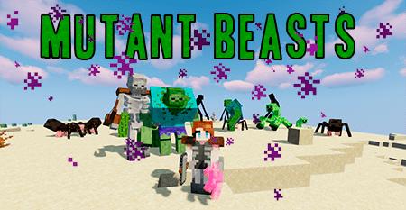Мод на мутантов Mutant Beasts 1.15.2/1.14.4/1.12.2