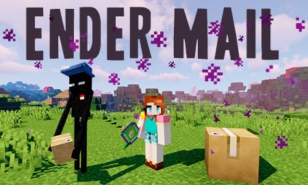 Ender Mail – почтальон Эндермен в Minecraft 1.15.2/1.14.4/1.12.2
