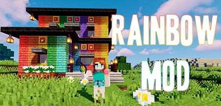 Rainbow – мод на разноцветные блоки для Minecraft 1.14.4