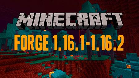 Forge для Minecraft 1.16.1/1.16.2/1.16.3