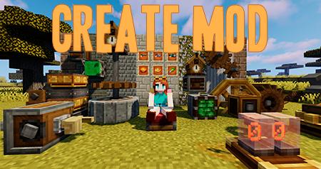 Create – мод на мельницу, конвейер и автоматику для Minecraft 1.16.5, 1.15.2 и 1.14.4