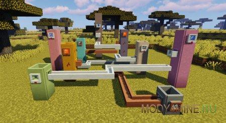 Ceramics – мод на доспехи из глины и разноцветные кирпичи для Minecraft 1.16.5, 1.16.4, 1.12.2, 1.11.2 и 1.10.2